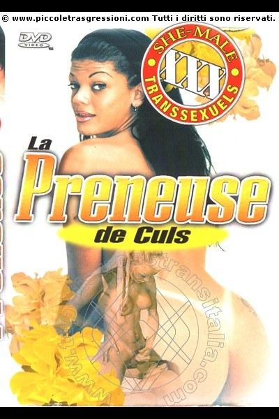 Foto frontale della copertina del film di Lady Mileidy mistress trans Padova